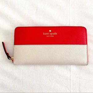 Kate Spade Zip Around Continental Wallet